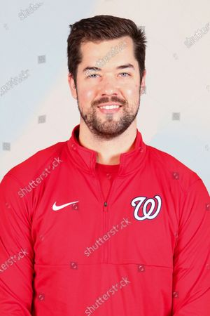 Stock Picture of This is a 2021 photo of Mike Gordon of the Washington Nationals baseball team. This image reflects the Washington Nationals active roster as of when this image was taken