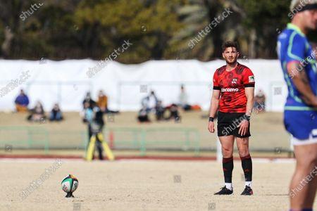 Owen Williams (NTT) - Rugby : Japan Rugby Top League 2021 match between NTT DOCOMO Red Hurricanes 38-19 NEC Green Rockets at Yanmar Stadium Nagai in Osaka, Japan.
