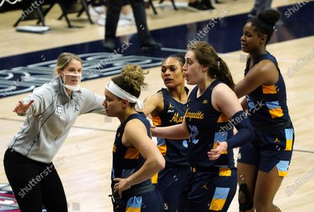 Editorial image of Marquette UConn Basketball, Storrs, United States - 01 Mar 2021