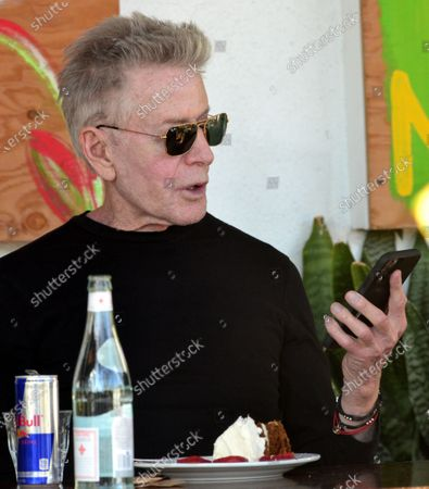 Calvin Klein having lunch in West Hollywood