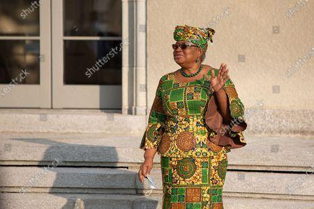 Editorial image of Switzerland Geneva Wto Chief Ngozi Okonjo Iweala Taking Office - 02 Mar 2021