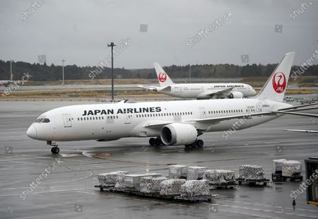 Stock Picture of An aircraft believed to be carrying Michael Taylor and his son Peter Taylor arrives at Narita airport, near Tokyo, Japan, 02 March 2021. Michael Taylor and his son Peter Taylor are suspected to have helped former Nissan Motor Co. Chairman Carlos Ghosn in his escape from Japan in 2019.