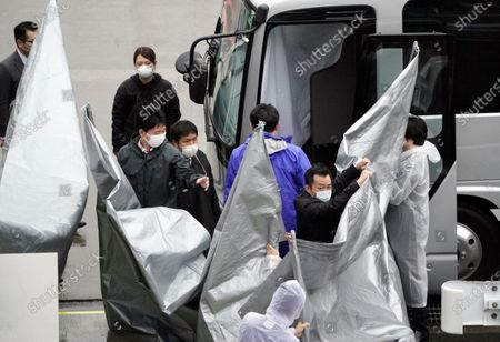 Editorial image of Men wanted in Ghosn's escape in Japanese custody, Narita, Japan - 02 Mar 2021