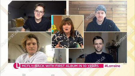 Editorial photo of 'Lorraine' TV Show, London, UK - 02 Mar 2021