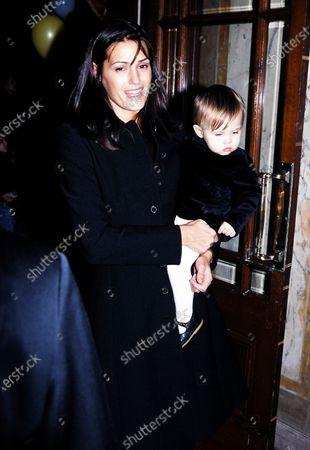 Yasmin Le Bon with daughter Tallulah Le Bon 1995