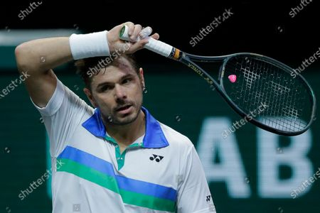 Editorial picture of Tennis ABN AMRO, Rotterdam, Netherlands - 02 Mar 2021