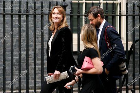 Editorial photo of Press Secretary Allegra Stratton On Downing Street, London, United Kingdom - 02 Mar 2021