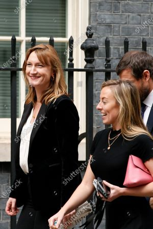 Editorial image of Press Secretary Allegra Stratton On Downing Street, London, United Kingdom - 02 Mar 2021