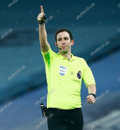 Stock Image of Referee Mr Chris Kavanagh