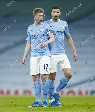 Editorial picture of Manchester City v Wolverhampton Wanderers, Premier League, Football, Etihad Stadium, Manchester, UK - 2 Mar 2021
