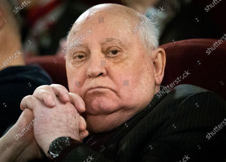 Editorial photo of Russia Gorbachev, Moscow, Russian Federation - 08 Nov 2018