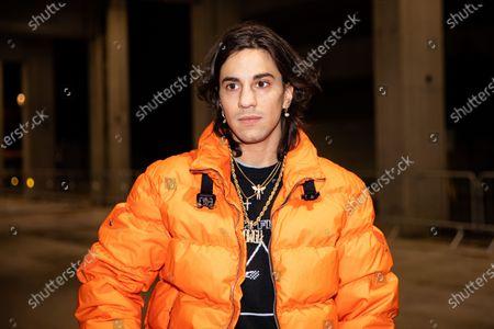 Editorial photo of Marcelo Burlon show, Arrivals, Fall Winter 2020, Milan Men's Fashion Week, Italy - 11 Jan 2020