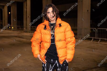 Editorial image of Marcelo Burlon show, Arrivals, Fall Winter 2020, Milan Men's Fashion Week, Italy - 11 Jan 2020