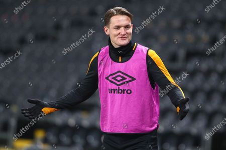 James Scott during the EFL Sky Bet League 1 match between Hull City and Rochdale at the KCOM Stadium, Kingston upon Hull