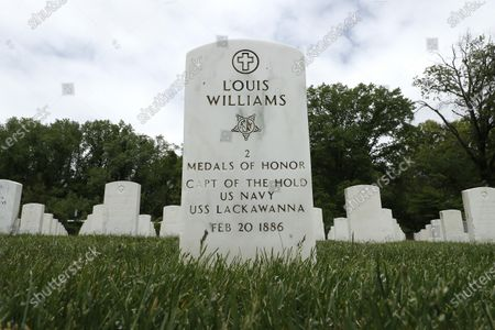 Editorial photo of Cypress Hill Military Cemetery During Memorial Day, New York, United States - 24 May 2020