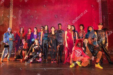 Editorial photo of Koche Runway, Autumn/Winter 2021, Paris Fashion Week, France - 27 Feb 2021