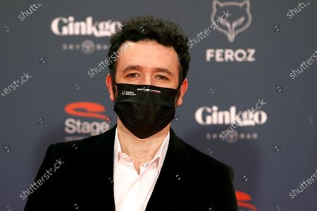 Rodrigo Sorogoyen poses on the red carpet during the 8th Feroz Awards gala at the Coliseum Theater in Madrid, Spain, 02 March 2021. The award handout ceremony acknowledges prominent works in Spanish cinema and television productions.