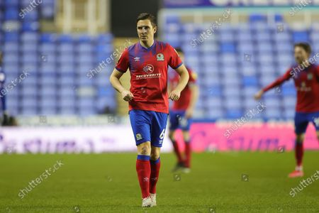 Stewart Downing (6) of Blackburn Rovers comes on during the EFL Sky Bet Championship match between Reading and Blackburn Rovers at the Madejski Stadium, Reading