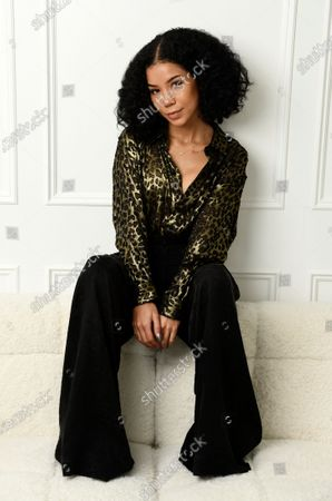 Singer Jhene Aiko poses for a portrait, in Los Angeles. Aiko will host the 63rd GRAMMY Awards on March 14