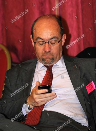 Stock Picture of Defeated Employment Minister Jim Knight at the South Dorset election count.