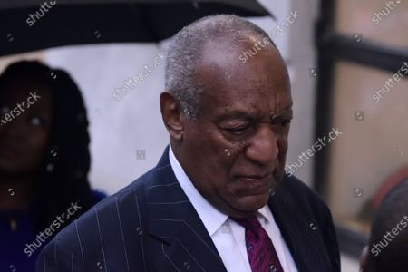 US Entertainer Bill Cosby arrives for a scenting hearing in Norristown, PA, on September 25, 2018. Cosby appears before Judge Steven O'Neil after a jury found the 81 year old entertainer guilty of three counts of aggravated indecent assault in a April 2018 retrial.