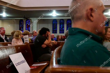 Congressional delegation representing Southeastern Pennsylvania reacts to pre-submitted questions from constituents during a townhall hosted by Indivisible Philadelphia at Tindley Temple, in South Philadelphia, PA on April 24, 2019.
