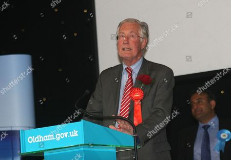 Labour's Candidate Michael Meacher is retained as MP for Oldham West and Royton