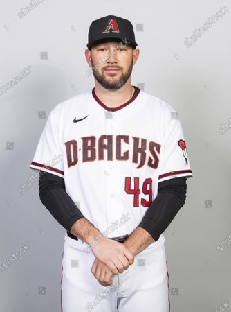 This is a 2021 photo of Alex Young of the Arizona Diamondbacks baseball team. This image reflects the Arizona Diamondbacks active roster as of when this image was taken