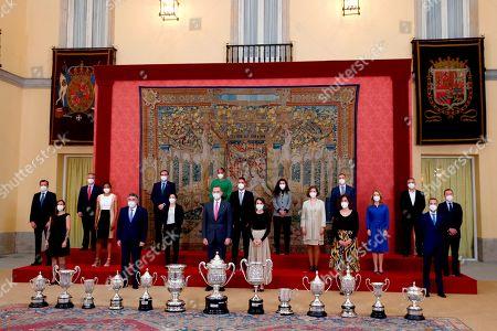 National Sports Awards, Palacio del Pardo, Madrid