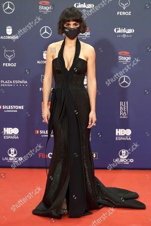 Editorial photo of 8th Feroz Awards gala, Red Carpet, Madrid, Spain - 02 Mar 2021