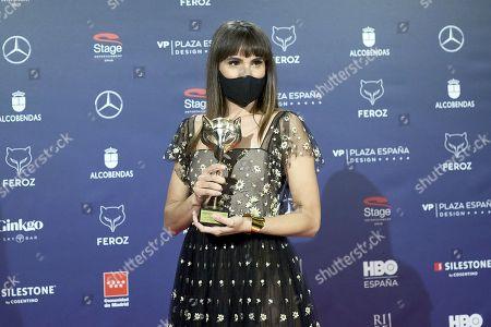 Editorial photo of Feroz Awards 2021, Winners Photocall, Madrid, Spain - 02 Mar 2021
