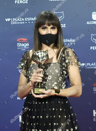Editorial picture of Feroz Awards 2021, Winners Photocall, Madrid, Spain - 02 Mar 2021