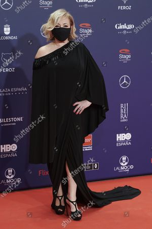 Editorial picture of 8th Feroz Awards gala, Red Carpet, Madrid, Spain - 02 Mar 2021