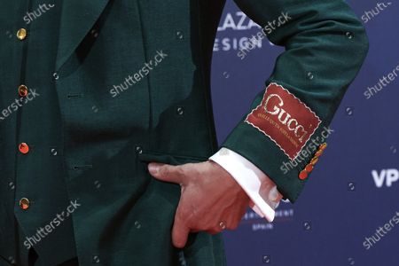 Paco Leon attends the Feroz Awards 2021 Red Carpet at VP Hotel Plaza de España in Madrid, Spain
