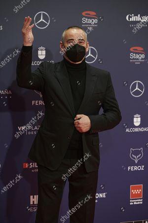 Editorial image of 8th Feroz Awards gala, Red Carpet, Madrid, Spain - 02 Mar 2021
