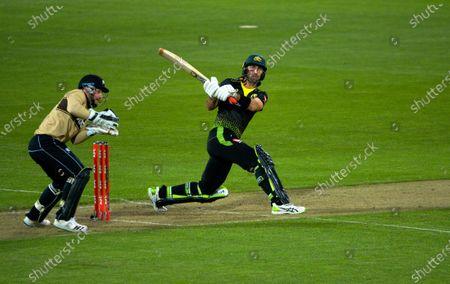 Editorial photo of NZ Black Caps v Australia, International T20 Cricket, Sky Stadium, Wellington, New Zealand - 03 Mar 2021