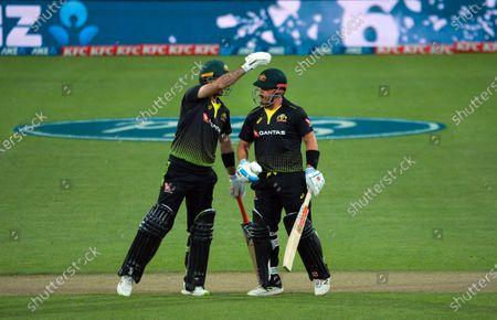 Editorial picture of NZ Black Caps v Australia, International T20 Cricket, Sky Stadium, Wellington, New Zealand - 03 Mar 2021