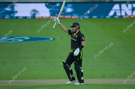 Editorial image of NZ Black Caps v Australia, International T20 Cricket, Sky Stadium, Wellington, New Zealand - 03 Mar 2021