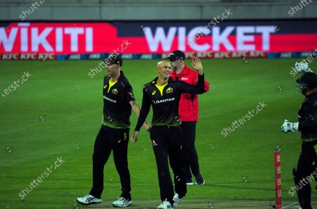 Editorial image of NZ Black Caps v Australia, International T20 Cricket, Sky Stadium, Wellington, New Zealand - 03 Mar 2021