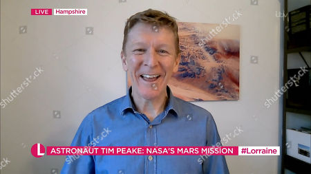 Stock Photo of Tim Peake