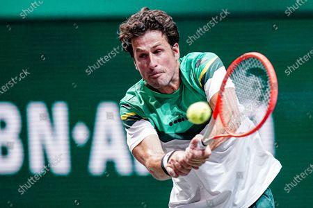 Editorial photo of Tennis Internationals ABN AMRO World Tennis Tournament 2021, ATP 500 tournament, Rotterdam Ahoy, Rotterdam, Netherlands - 01 Mar 2021