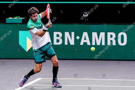 Editorial picture of Tennis Internationals ABN AMRO World Tennis Tournament 2021, ATP 500 tournament, Rotterdam Ahoy, Rotterdam, Netherlands - 01 Mar 2021