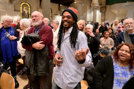 Dr. Kim Phc attends the Philadelphia Orchestra performance of Children of the Fire, by composer-in-residence Hannibal Lokumbe at the Philadelphia Episcopal Cathedral in West Philadelphia, PA, on December 7, 2019. Dr. Phc is the subject of the iconic 1972 Napalm Girl Pulitzer Prize-wining photograph by now-retired Associated Press photographer Nick Ut.