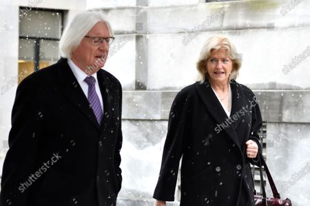 A jury pool Is selected and a trial date is set from April 9, 2018 for the retail of Bill Cosby, after a week of pre-trial hearings and jury deliberations at the Montgomery County Court House. Attorneys Thomas Mesereau and Kathleen Bliss, attorneys for Bill Cosby arrives in Norristown, PA, on April 2, 2018.