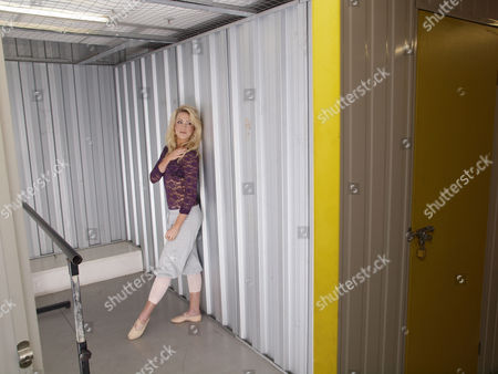 Editorial photo of Dancer Aideen Donoghue, rehearses in a storage container at Access Storage, King's Cross, London, Britain - 09 Feb 2010