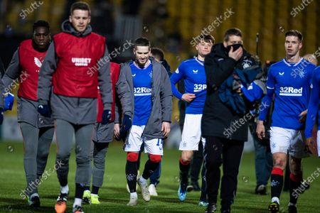 Editorial photo of Livingston v Rangers, Scottish Premiership, Football, The Tony Macaroni Arena, Livingston, Scotland, UK - 03 Mar 2021