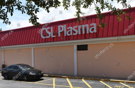 Editorial image of Plasma Donations In Florida Help Fight COVID-19, Orange City, United States - 15 Aug 2020