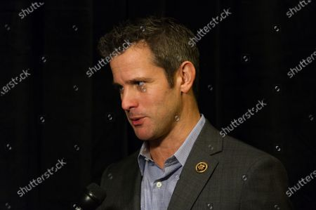 """US Representative Adam Kinzinger of Illinois, at the """"Congress of Tomorrow"""" Joint Republican Issues Conference, at the Loews Hotel, in Center City, Philadelphia, Pennsylvania, on January 25, 2017."""