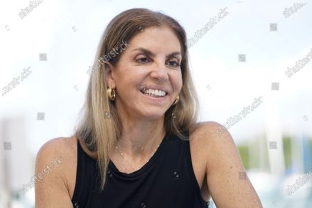 """Leila Cobo, a Colombian journalist specializing in Latin music, talks about her new book titled """"Decoding """"Despacito: An Oral History of Latin Music,"""" during an interview in Key Biscayne, Fla., on"""