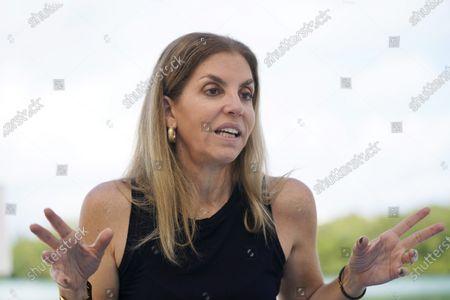 Editorial image of Leila Cobo, Key Biscayne, United States - 23 Feb 2021